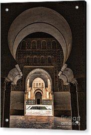 Ben Youssef IIi Acrylic Print by Chuck Kuhn