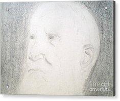 Benard Shaw Sketch Acrylic Print