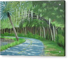 Bend In The Road No. 2 Acrylic Print by Robert Rohrich