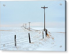 Bend In The Road Acrylic Print by Todd Klassy
