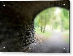 Beneath The Bridge Acrylic Print
