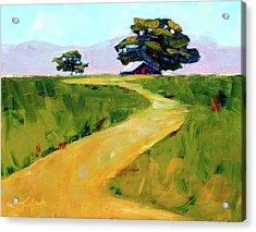 Beneath The Cottonwoods Acrylic Print