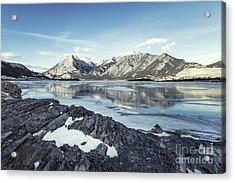 Beneath The Frozen Sky Acrylic Print