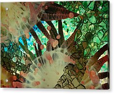 Acrylic Print featuring the photograph Beneath The Sea by Lori Mellen-Pagliaro