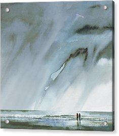 Beneath Turbulent Skies Acrylic Print
