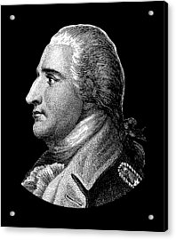Benedict Arnold - The Traitor  Acrylic Print by War Is Hell Store