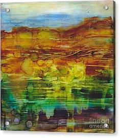 Beneficent Downpour Acrylic Print