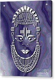 Benin Queen Mother Acrylic Print