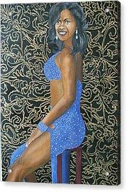 Benita As A Dancing Star Acrylic Print