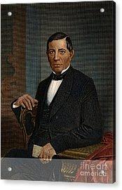 Benito Juarez (1806-1872) Acrylic Print by Granger