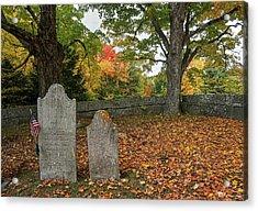 Benjamin Butler Grave Acrylic Print