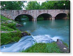 Acrylic Print featuring the photograph Bennett Spring by Steve Stuller