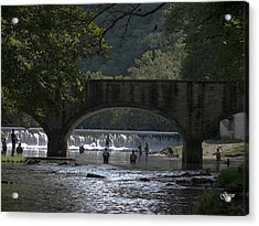 Bennett Springs Bridge Acrylic Print