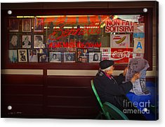Acrylic Print featuring the photograph Bennett's Homemade by Craig J Satterlee