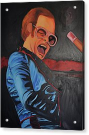 Benny And The Jet Acrylic Print by Mitchell Todd