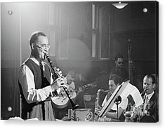 Benny Goodman Orchestra  Acrylic Print by The Harrington Collection