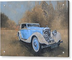 Bentley By Kellner Acrylic Print by Peter Miller