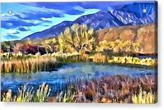 Benton Pond Acrylic Print
