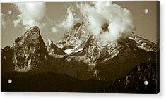 Berchtesgaden Mountains Acrylic Print by Frank Tschakert