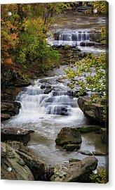 Acrylic Print featuring the photograph Berea Falls by Dale Kincaid