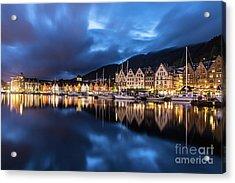 Bergen Harbor Acrylic Print