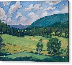 Berkshires Summer Acrylic Print