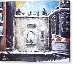Berlin Gate No.2 Acrylic Print by James Sayer