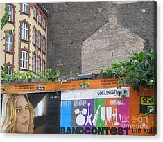 Acrylic Print featuring the photograph Berlin New And Old by Erik Falkensteen