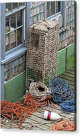 Bernard Habor Nautical Detail Acrylic Print by Juergen Roth