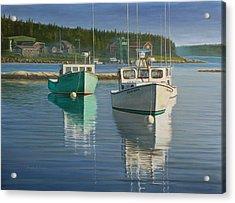 Bernard Harbor Acrylic Print by Bruce Dumas