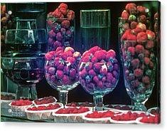Berries In The Window Acrylic Print