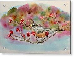 Berry Abundant II Acrylic Print