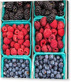 Berry Berry Delicious Acrylic Print by Peter Tellone