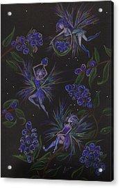 Berry Blues Acrylic Print