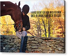 Best Friends Quote Acrylic Print by JAMART Photography