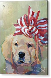 Best Gift Ever Acrylic Print by Kimberly Santini