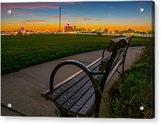 Best Seat In The House Acrylic Print