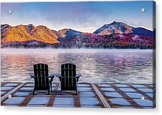 Best Seats In The Adirondacks Acrylic Print