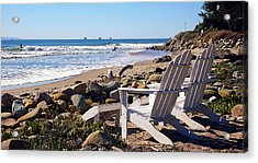 Best View Of The Point Acrylic Print by Ron Regalado