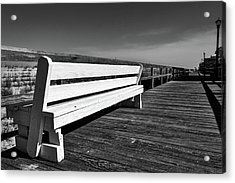 Bethany Beach Boardwalk Acrylic Print
