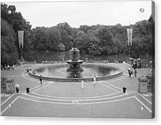Bethesda Fountain Central Park New York Acrylic Print