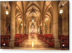 Bethlehem Chapel Washington National Cathedral Acrylic Print