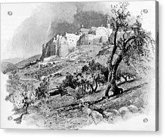 Bethlehem In 1896 Acrylic Print