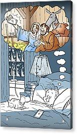 Nativity Selfie Acrylic Print