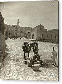 Bethlehem: Street, C1911 Acrylic Print by Granger
