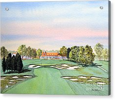 Bethpage State Park Golf Course 18th Hole Acrylic Print