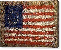 Betsy Ross Flag Number One Acrylic Print