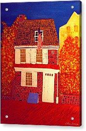 Betsy Ross's House Acrylic Print