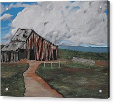 Better Days Acrylic Print by Candace Shockley