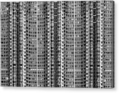Better Know Where Your Flat Is Acrylic Print by Stefan Schilbe